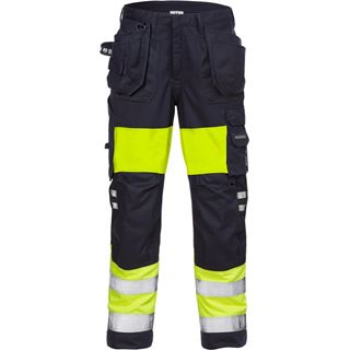 Fristads 2777 Womens High Vis Yellow Arc Resistant Trousers
