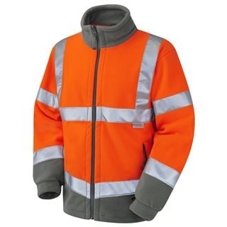 Leo F01 Hartland High Vis Fleece Jacket