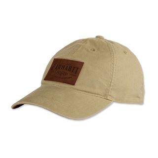 Carhartt Rigby Stretch Fit Leatherette Baseball Cap
