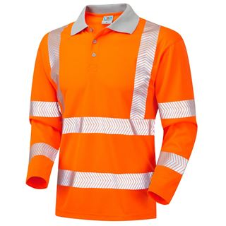 Leo P08 Barricane High Vis Polo Shirt