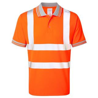 Pulsarail PR176 High Vis Polo shirt