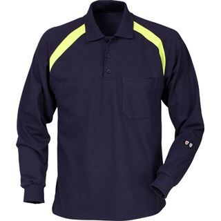 Fristads Flamestat Long Sleeve Polo Shirt 784