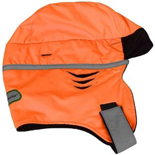 High Vis Orange Safety Helmet Liner