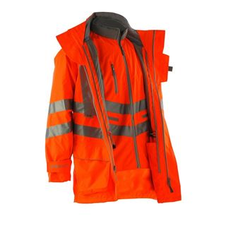 Pulsarail PR497 High Vis 7in1 Storm Coat