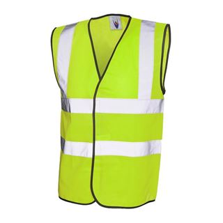 UC801 High Vis Yellow Vest