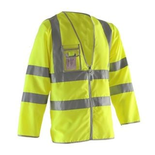 Pulsar P201 Long Sleeve High Vis Vest