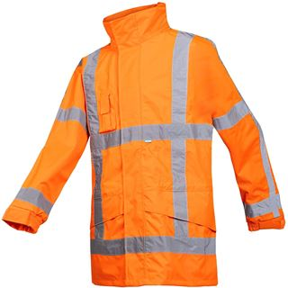 Boorne Siopor Ultra 350 High Vis Rain Jacket