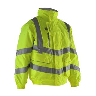Pulsar P191 High Vis Lined Bomber Jacket