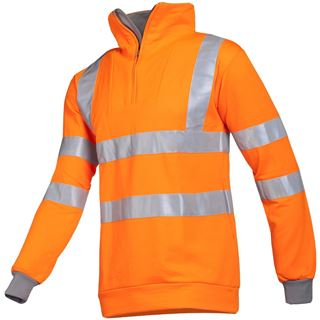 Sioen 284 Bindal High Vis Orange Top
