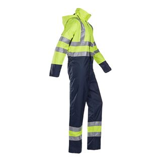 Tanner 6453 High Vis Yellow Waterproof Overall
