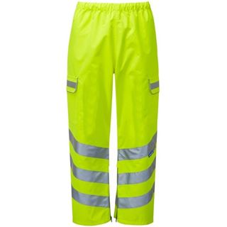 P206  Pulsar Class 2 High Vis Waterproof Over Trouser