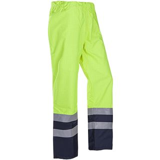 Siostart 5874 Tielson FR High Vis Yellow Rain Trousers