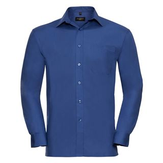 Russell 936M long sleeve 100% cotton shirt