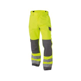 Dassy Manchester High Vis Yellow Multi-Norm Work Trousers