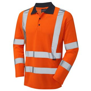 Leo P05 Swimbridge High Vis Polo Shirt
