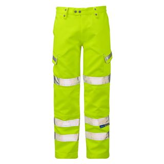 Pulsar P346 High Vis Yellow Trousers Class 2