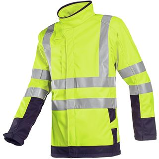 Sioen Playford 9633 Yellow High Vis Arc Protection Soft Shell
