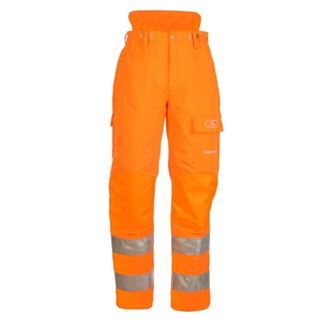 High Vis Chainsaw Trouser Type 'A' SIP1SRN.