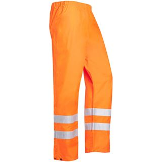 Sioen Bitoray 199 High Vis Orange Waterproof Overtrousers