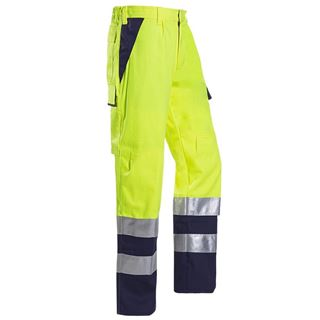 Sioen 013 Royan High Vis Yellow Arc Trousers