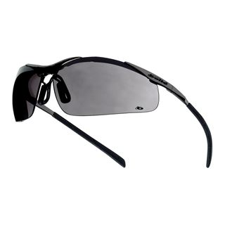 Bolle Contour Metal Frame Smoke Safety Glasses