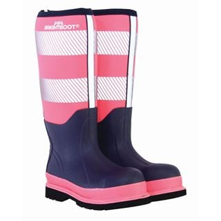 Brightboot Womens Safety Wellingtons