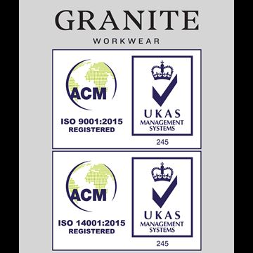 Granite Workwear Is Proud To Announce We Are Officially ISO Certified!