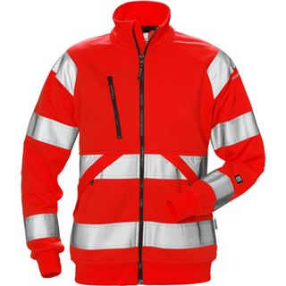 Fristads 7427 High Vis Womans sweat jacket