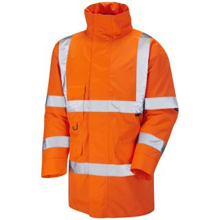 Leo A01 Tawstock High Vis Storm Coat