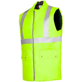 Sioen Arras High vis Yellow bodywarmer