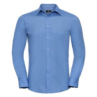 Russell 924M Easycare Fitted Poplin Shirt