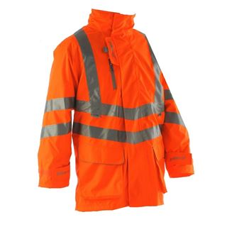 Pulsarail PR502 High Vis Lined Storm Coat