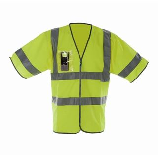 Pulsar P343 High Vis Half Sleeved Vest