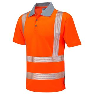 Leo P03 Woolacombe High Vis Polo Shirt