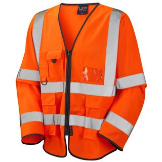 Leo Wrafton S12 Long Sleeved High Vis Vest