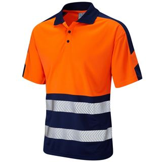 Leo P10 Watersmeet High Vis Polo Shirt