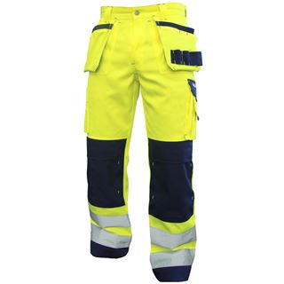 Dassy Glasgow High Vis Work Trousers