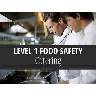 Level 1 Food Safety - Catering Course