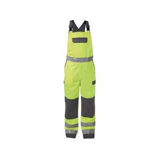 Dassy Colombia High Vis Yellow Multi-norm Bib & Brace Overall