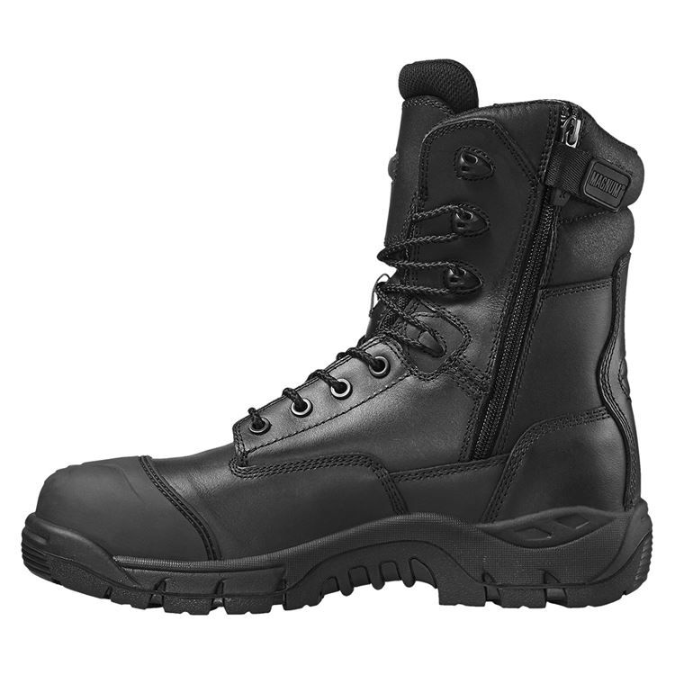 Magnum M801365 Rigmaster Men Waterproof Safety Boots Metal Free Toe Cap Side Zip