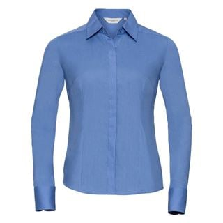 Russell 924F Easycare Fitted Poplin Blouse