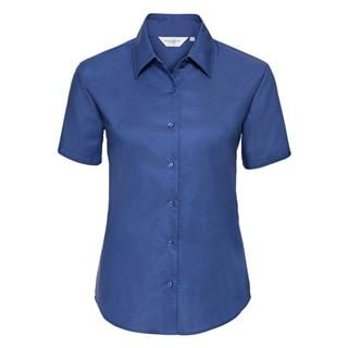 Russell 933F short sleeve Oxford blouse