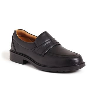 Sterling SS503CM Black Slip On Executive Safety Shoe
